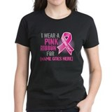 Breast cancer Women's Dark T-Shirt
