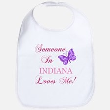 Indiana State (Butterfly) Bib