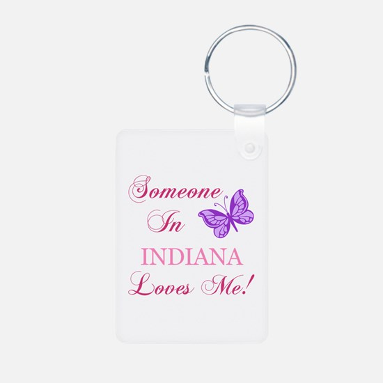 Indiana State (Butterfly) Keychains