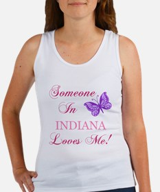 Indiana State (Butterfly) Women's Tank Top