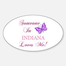Indiana State (Butterfly) Decal