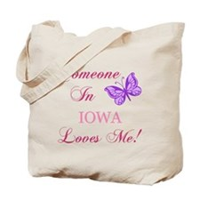 Iowa State (Butterfly) Tote Bag