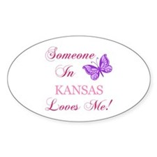 Kansas State (Butterfly) Decal