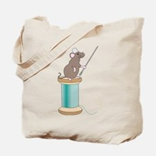 Mouse Sewing Tote Bag