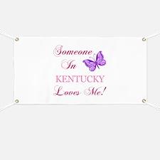Kentucky State (Butterfly) Banner