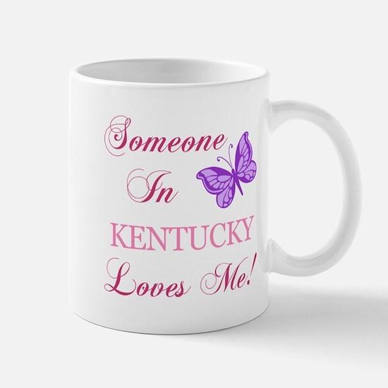 Kentucky State (Butterfly) Mug