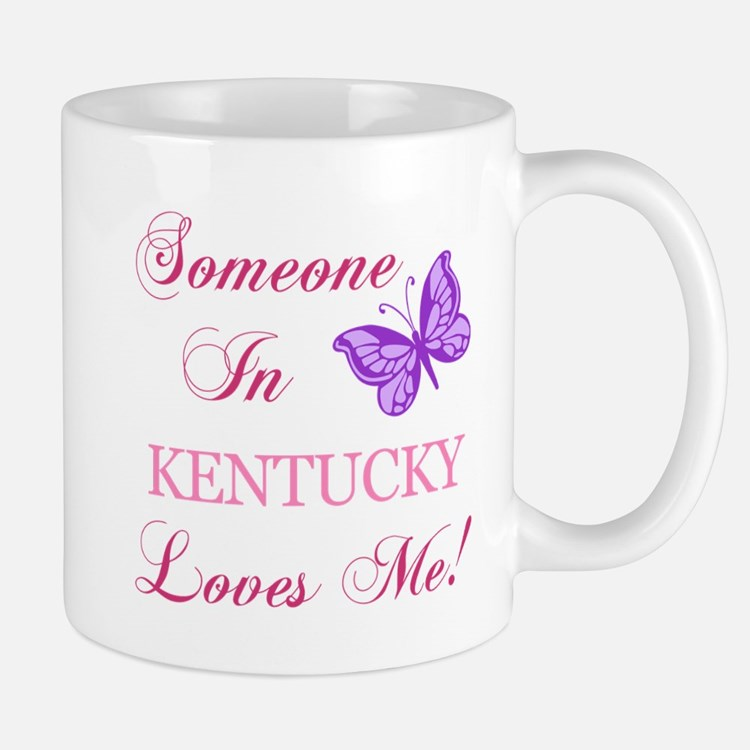 Kentucky State (Butterfly) Mug
