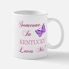 Kentucky State (Butterfly) Small Small Mug