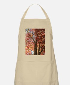 Ruby Leaves Apron