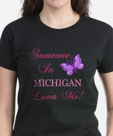 Michigan State (Butterfly) Tee