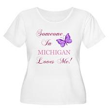 Michigan State (Butterfly) T-Shirt