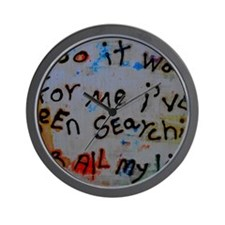 so it was for me i've been searchin' fo Wall Clock