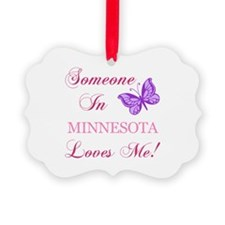 Minnesota State (Butterfly) Ornament
