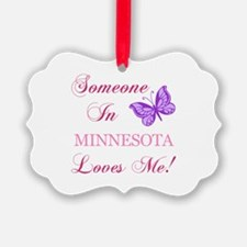 Minnesota State (Butterfly) Ornament