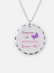 Minnesota State (Butterfly) Necklace