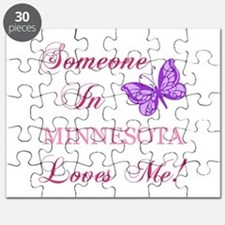 Minnesota State (Butterfly) Puzzle