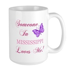 Mississippi State (Butterfly) Mug