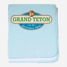 Grand Teton National Park baby blanket