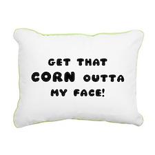 Corn Rectangular Canvas Pillow