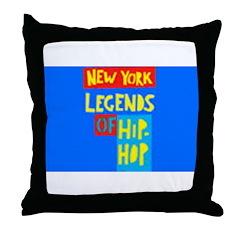 NEW YORK LEGENDS Throw Pillow