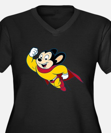 MightyMouse Plus Size T-Shirt