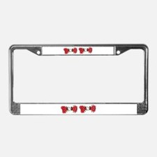 Cartoons,humor License Plate Frame