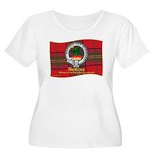 Seton Clan Plus Size T-Shirt