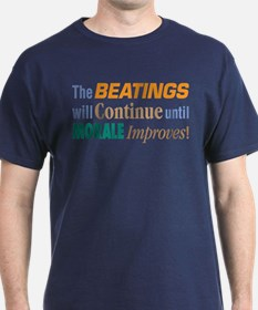 Beatings Will Continue - T-Shirt