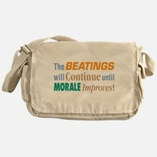 Beatings Will Continue - Messenger Bag