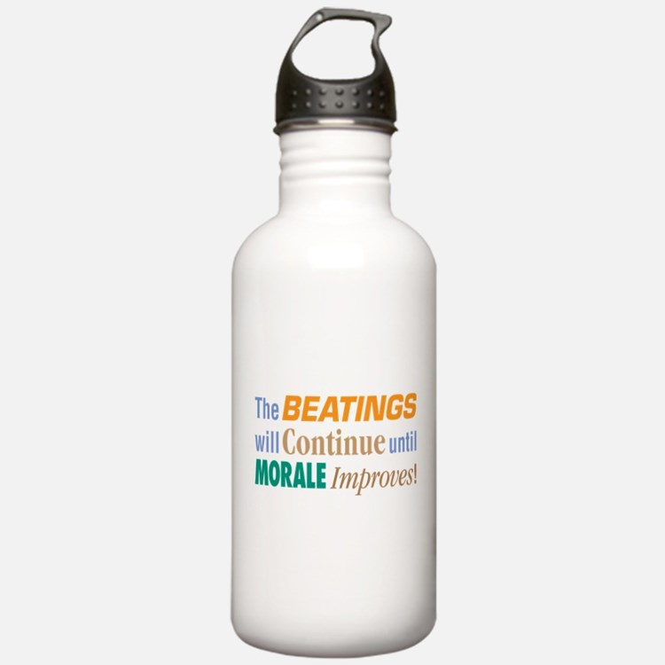 Beatings Will Continue - Sports Water Bottle