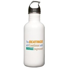 Beatings Will Continue - Water Bottle