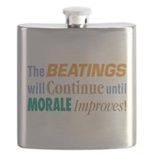 Beatings Will Continue - Flask