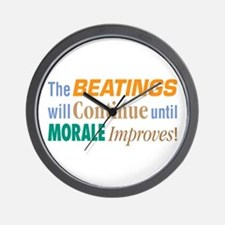 Beatings Will Continue - Wall Clock