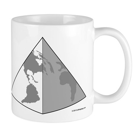 Earth Pyramid Mugs