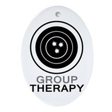 Group Therapy Ornament (Oval)