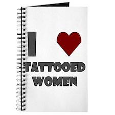 I Love Tattooed Women Journal