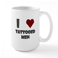 I Love Tattooed Men Mug