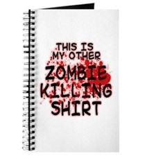 This is my other Zombie Killing Shirt Journal