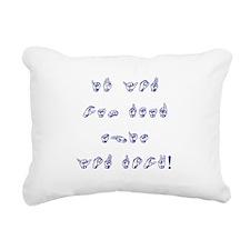 You Rock.png Rectangular Canvas Pillow