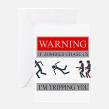 Zombies 01.png Greeting Card