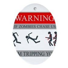 Zombies 01.png Ornament (Oval)