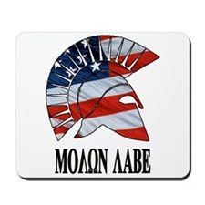 Movon Labe Flag Side Helm Mousepad