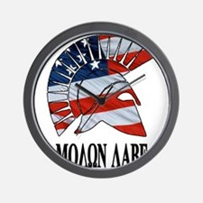 Movon Labe Flag Side Helm Wall Clock