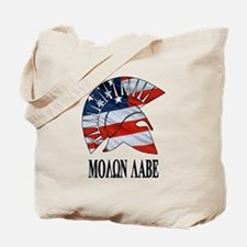 Movon Labe Flag Side Helm Tote Bag