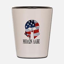 Movon Labe Flag Helm Shot Glass
