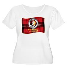 Ramsay Clan Plus Size T-Shirt