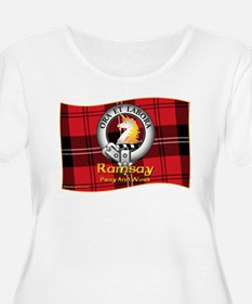 Ramsay Clan Plus Size T-Shirt