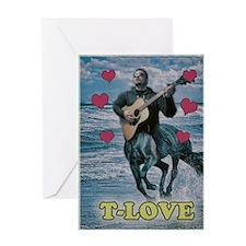 T-Love Greeting Card