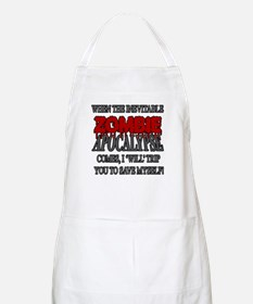 I Will Trip You Apron