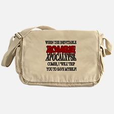 I Will Trip You Messenger Bag
